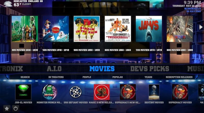 Best Kodi Build May 2020.Brand New Best Kodi Builds 2019 For 18 2 Nitronx Build