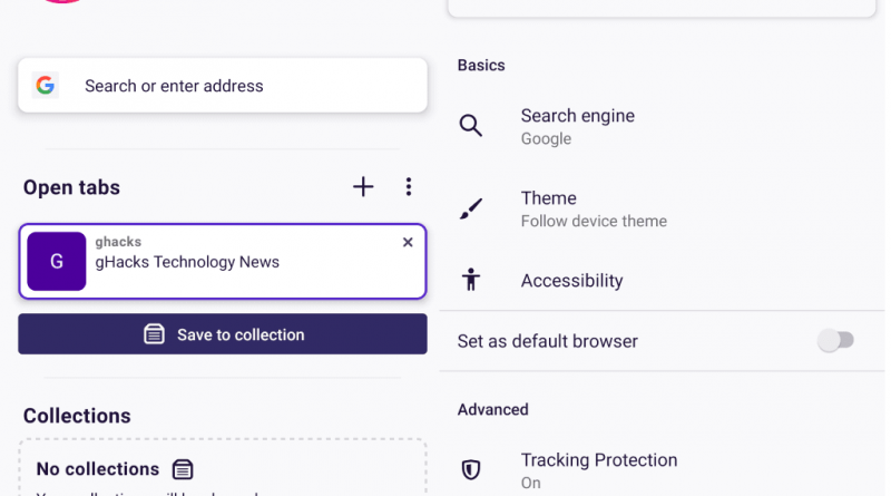 Firefox Preview 1 0 (Fenix) is now available - Pin System