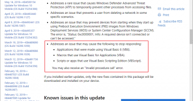 First updates released that fix the Windows VB bugs