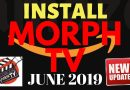 MORPH TV BACK WITH AN UPDATE!