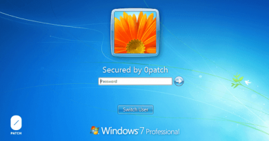 0Patch to support Windows 7 and Server 2008 R2 with security patches after official support end