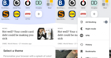 Opera 54 for Android: new theme, Bitcoin support