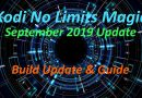 Kodi No Limits Magic Latest version sept 2019