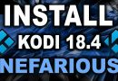 BEST KODI 18.4 BUILD – NOVEMBER 2019 – ★NEFARIOUS BUILD★ Update for Amazon Firestick & Android