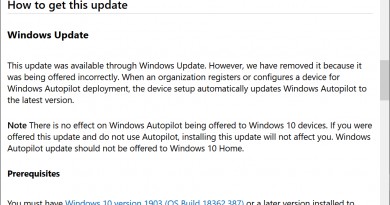 Did Microsoft release another Windows 10 update by mistake?
