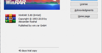 WinRAR 5.80 Final has been released