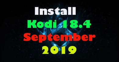 Fastest Install Kodi 18.4 on Firestick – New September 2019