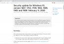 Microsoft pulls the security update KB4524244 for Windows 10