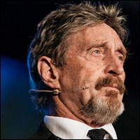 John McAfee Emerges With Private Cell Phone Data Service