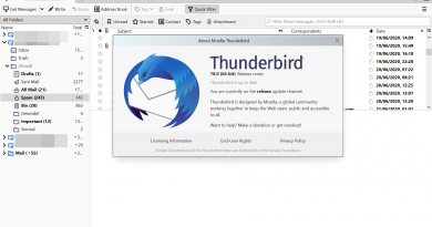 Thunderbird 78.0 Release Imminent
