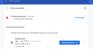 Chrome 86 to feature improved password reset capabilities