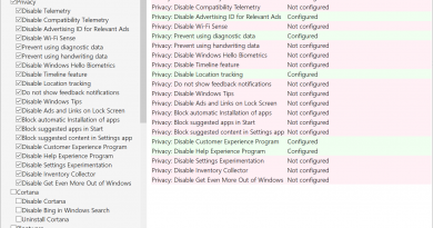 Windows 10 privacy software Privatezilla update brings analysis mode