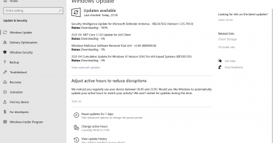 Microsoft Windows Security Updates April 2021 overview
