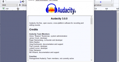 Audacity drops plans to introduce Telemetry