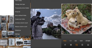Simple Gallery Pro for Android is a local Google Photos alternative