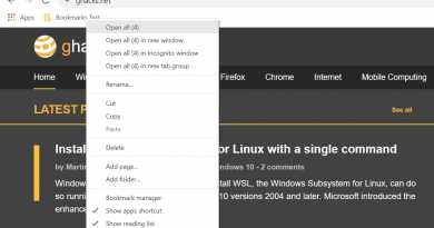Google Chrome: open all bookmarks of a folder in a tab group