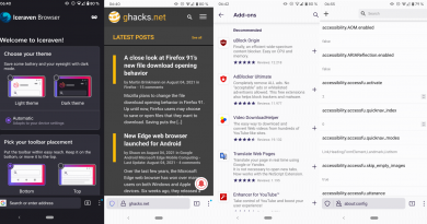 Is Iceraven the better Firefox for Android mobile browser?